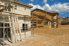 budowa mieszkaniowa Obrazy Royalty Free