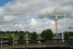Budowa most Zdjęcia Stock