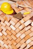 Budowa murarza narzędzia Zdjęcie Royalty Free