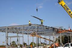 Budowa na Ciepłym dniu zdjęcia stock