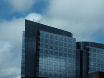 Budować nad miastem Zdjęcie Stock
