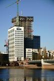 Budowa Nadrzeczny Pieniężny Gromadzki Frankfurt Zdjęcia Royalty Free