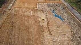 Budowa nowa droga zdjęcie wideo