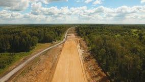 Budowa nowa droga zbiory