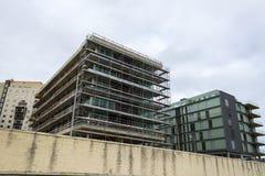 Budowa nowy budynek Zdjęcia Stock