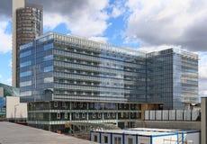 Budowa nowy Radisson Błękitny hotelowy budynek Fotografia Royalty Free