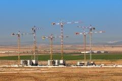 Budowa nowy sąsiedztwo zdjęcia royalty free