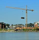 Budowa nowy sąsiedztwo Zdjęcie Royalty Free