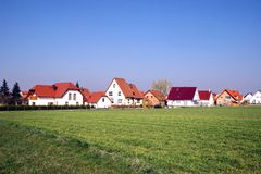 budowa nowy settlement1 Zdjęcia Stock
