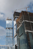 budowa nowych drapacze chmur Obraz Stock