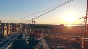 Budowa Od Above 4K zdjęcie wideo