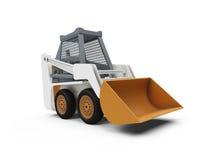 budowa odizolowywający ciężarowy widok ilustracji