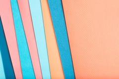Budowa papieru warstwy koloru abstrakta tło zdjęcie royalty free