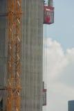 Budowa plac budowy i pole Zdjęcie Royalty Free