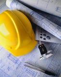 budowa plany Fotografia Stock