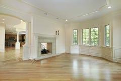 budowa pokój domowy żywy nowy Fotografia Royalty Free