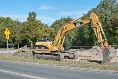 budowa Poland Zdjęcie Stock
