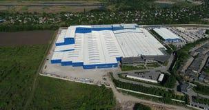 Budowa powierzchowność wielka nowożytna produkci roślina, fabryka, lub zbiory
