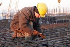 budowa pracownik obrazy stock