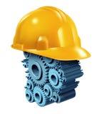 Budowa Pracujący przemysł ilustracja wektor