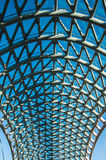 Budowa projekta architektura żelazny caonstruction zdjęcia stock