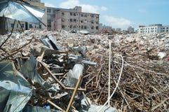 Budowa, rewitalizacja obszarów wielkomiejskich, w Shenzhen, Chiny Fotografia Royalty Free