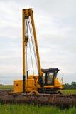 budowa rurociągu Zdjęcia Royalty Free
