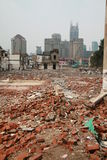 budowa Shanghai obrazy stock