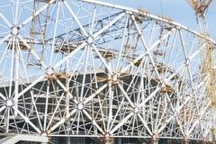 Budowa stadion futbolowy dla pucharu świata 2018, Rosja, Volgograd Fotografia Royalty Free