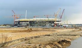 Budowa stadium Obraz Royalty Free