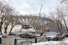 Budowa stadium dla pucharu świata Zdjęcia Royalty Free