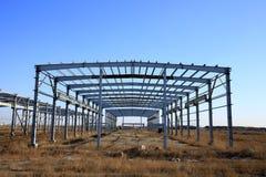 Budowa stalowa struktura zdjęcia stock