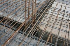 Budowa stalowi bary Zdjęcia Royalty Free