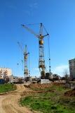 Budowa żuraw. Obraz Stock