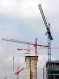 budowa żurawie Obraz Stock