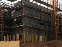 budowa ustanowione cegieł na zewnątrz miejsca Zdjęcie Stock