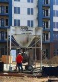 budowa ustanowione cegieł na zewnątrz miejsca Fotografia Royalty Free