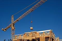 budowa ustanowione cegieł na zewnątrz miejsca Zdjęcia Royalty Free