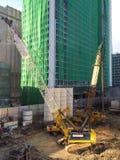 budowa ustanowione cegieł na zewnątrz miejsca Obrazy Stock