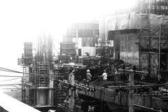 Budowa w Bangkok Zdjęcia Stock