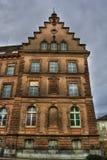 Budować w Basel HDR obraz royalty free