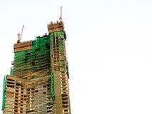 Budować w budowie Obraz Royalty Free