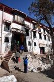 Budować w Drepung monasterze Obraz Royalty Free