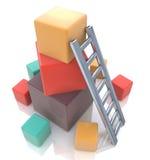 Budowa w górę pojęcia Zdjęcie Stock