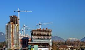 Budowa w mieście Zdjęcie Stock