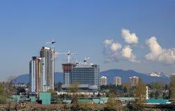 Budowa w mieście Zdjęcie Royalty Free