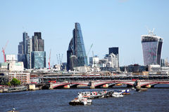 Budowa w mieście Londyn Zdjęcie Stock