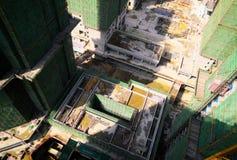 Budowa w słonecznym dniu fotografia royalty free