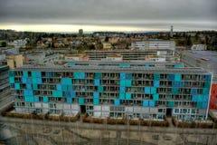 Budować w Zurich HDR obraz royalty free