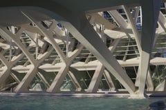 Budowa Walencja Hiszpania Fotografia Royalty Free